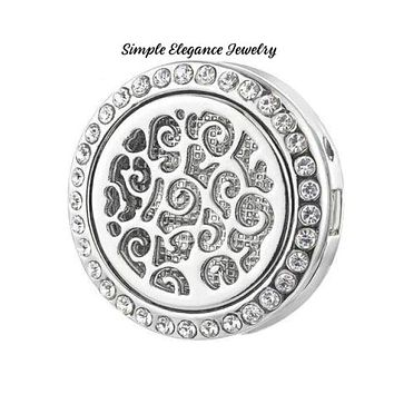Oil/Perfume Defuiser Snap Charm 20mm for Snap Jewelry-Simple Elegance Jewelry
