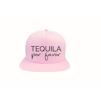 Tequila Por Favor Trucker Hat