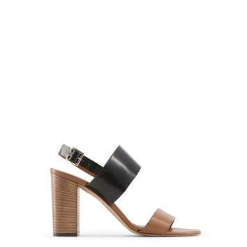 Made In Italia Brown Suede Leather Sandals