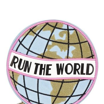 Run The World Cross Body Circle Bag by Skinny Dip London