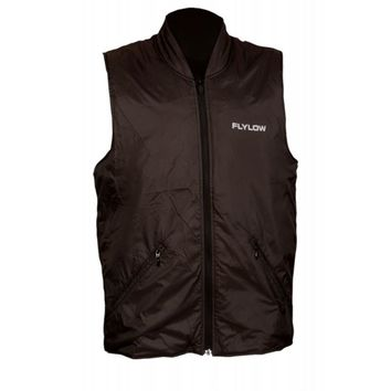 New 2011 Flylow Mens TC Micro-Puff Black Level 5 DWR Intuitive Fabric Vest Sz M