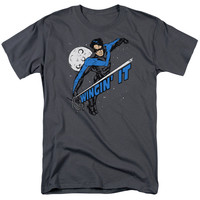 Mens Batman/Wingin It T Shirt