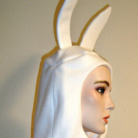 Fionna Fleece Finn Hat Adventure Time Cosplay Costume