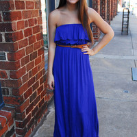 Summersault Maxi Dress - Cheeky Peach - A style and service boutique in Downtown Athens, Georgia