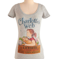 Novel Tee in Charlotte | Mod Retro Vintage T-Shirts | ModCloth.com