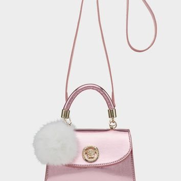 Young Versace Metallic Mini Handbag for Girls | US Online Store