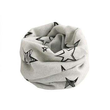 Kid Scarf Star Pattern - Cool Neck Warmer for your Hype Child! 5 Color Options