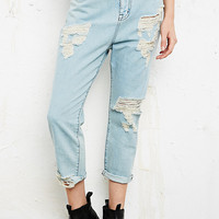 BDG Drop Crotch Distressed Jeans - Urban Outfitters