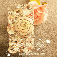 iPhone 5 case, iPhone 4 case, iPhone 4s case, iPhone case, Bling iphone 5 case,Unique iPhone 4 case, iphone 5, bling iphone 4 case rose