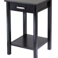 Winsome Wood Liso End Table/Printer Table