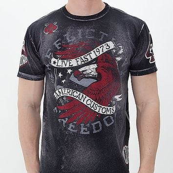 Affliction American Customs Night Strike T-Shirt