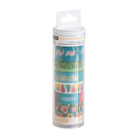 Tropical Life Washi Tube By Recollections™, Blue