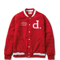 Diamond Supply Co. - Un-Polo Varsity Jacket - Red