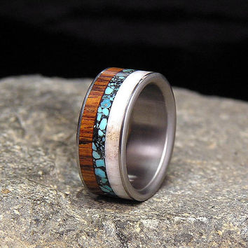 Camouflage Wedding Bands For Men
