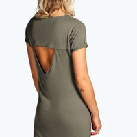 Ellisia Sleeve Tshirt Dress