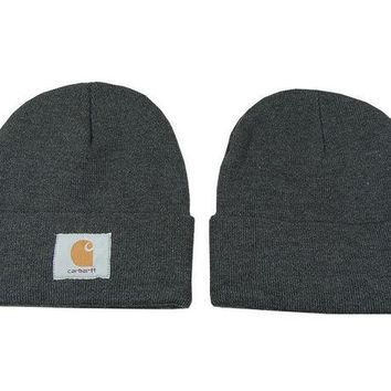 LMOFN1 Perfect Carhartt Women Men Embroidery Winter Beanies Knit Hat Cap