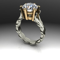 Forever Brilliant Moissanite Engagement Ring 3.10 CTW