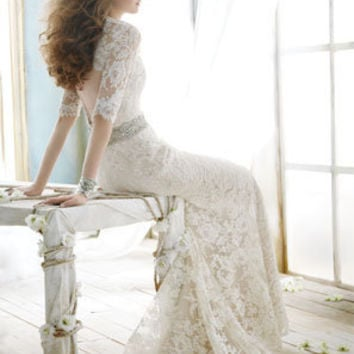 Bridal Gowns, Wedding Dresses by Jim Hjelm - Style jh8211