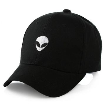 2017 New Gorras Suede Baseball Cap Aliens Outstar Saucer Space E.T UFO Fans Snapback Hat for Men Women Solid Hip Hop Caps