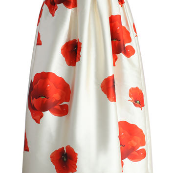 Glamorous Poppy Full Maxi Skirt  Multi