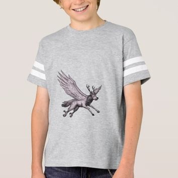 Peryton Flying Side Tattoo Sweatshirt
