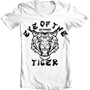 Kid's Octane Eye of the Tiger Vintage Kung Fu T-Shirt