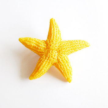 Faux Starfish Hair Clip Fake Starfish Barrette Artificial Starfish Hair Accessories Beach Wedding Bridal Hair Accessories Beach Bridesmaids