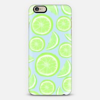 Simply Lime Blue iPhone 6 case by Lisa Argyropoulos | Casetify
