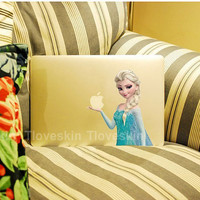 Snow Queen Decal for Macbook Pro, Air or Ipad Stickers Macbook Decals Apple Decal for Macbook Pro / Macbook Air