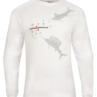 Men's Offshore Mix L/S UV Fishing T-Shirt
