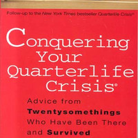 "Conquering Your Quarterlife Crisis: Advice from Twentysomethings Who Have Been There and Survived by Alexandra Robbins  (Bargain Books) - Plus Free ""Read Feminist Books"" Pen"