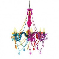Wake Up Frankie - Cirque Hanging Chandelier : Teen Bedding, Pink Bedding, Dorm Bedding, Teen Comforters