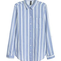 Cotton Shirt - from H&M