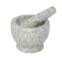 Libertyware 5 Inch Stone Granite Mortar and Pestle