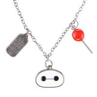 Disney Big Hero 6 Baymax Satisfied Necklace