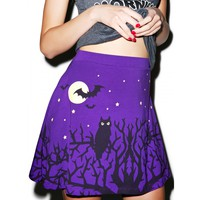 NIGHT OWLS SKIRT