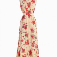 Blissful Roses Maxi Dress | Modern Vintage Dresses