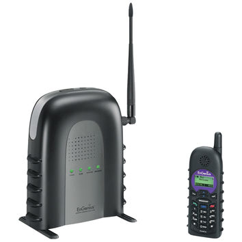ENGENIUS DuraFon-SIP SYSTEM DuraFon(R) SIP Long-Range Cordless Telephone System with 1 Base Station & 1 Handset