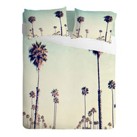 Bree Madden California Palm Trees Sheet Set