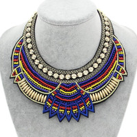 Blue Egyptian Necklace
