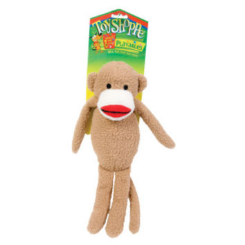 ToyShoppe® Monkey Squeaker Dog Toy