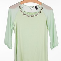 BKE Boutique Rhinestone Top