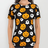 Halloween All Over Print Shirt by Cat&wolf | Society6