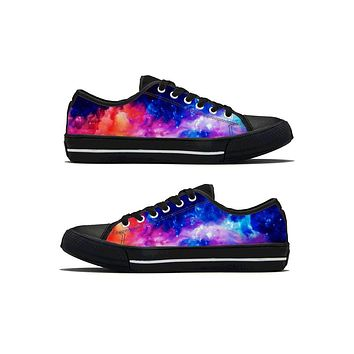 Dream Waves - Low Top Canvas Shoes