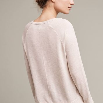 Heart-Patched Pullover