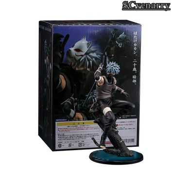 Naruto Sasauke ninja  Hatake Kakashi PVC Action Figure The Dark Kakashi Figures Collectible Toy 24CM AT_81_8