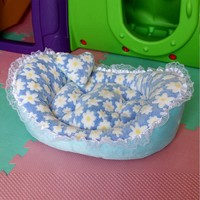 Cute Dog Bed House Soft Warm Pet Coral Fleece House Cozy Puppy Sofa Kitten Kennel Pet Dog Bed For Dog S420