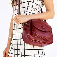 Cooperative Button Shoulder Bag-