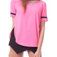 Bright Idea Top - Hot Pink
