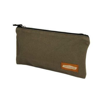 POUCH | Taupe Canvas